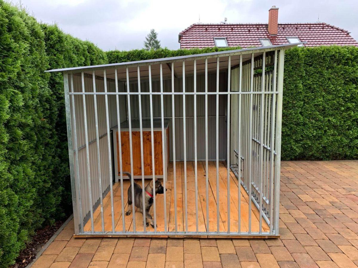 Kutyakennel 3x2m