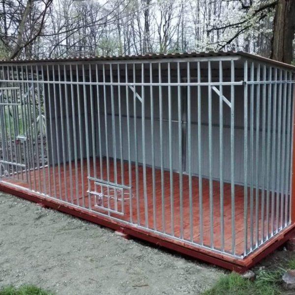 Kutyakennel 4x2m